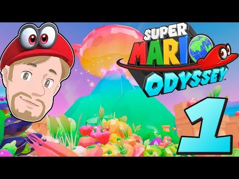 (🔴 LIVE) HYPE! | Super Mario Odyssey på svenska Med Danne Nintendo Switch | Avsnitt 1