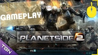Planetside 2 (PC) -Gameplay- A la captura de Xelas Bio Lab