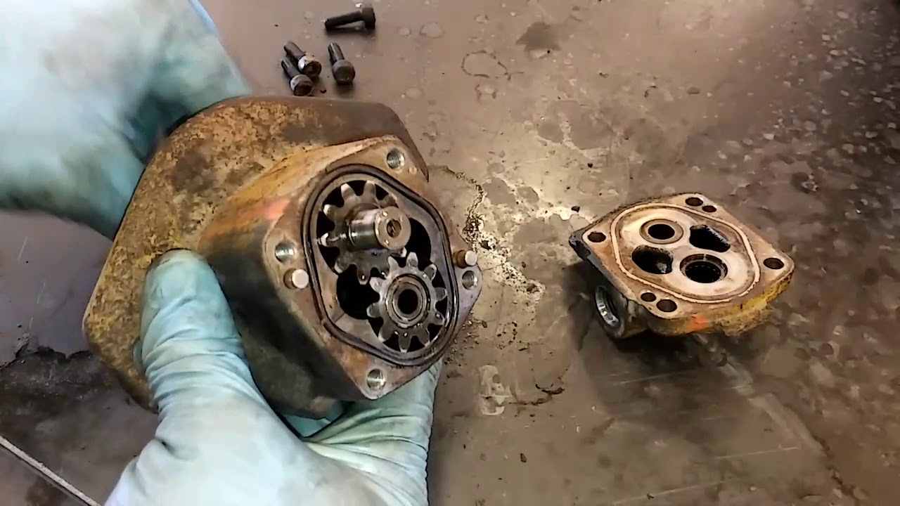 Cat Fuel Transfer Pump Remove And Install C15, 3406E, C12