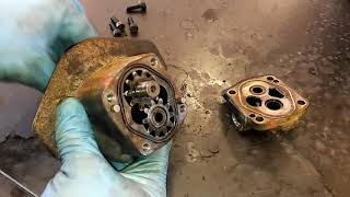Cat Fuel Transfer Pump Remove And Install.  C15, 3406E, C12, and C13.
