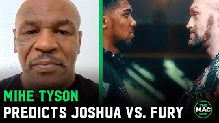 "Mike Tyson: ""Tyson Fury's too elusive, Anthony Joshua's not gonna f***ing touch this guy"""