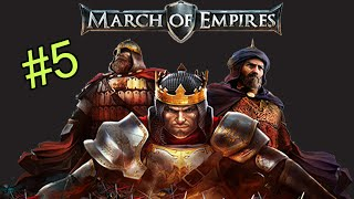 March of Empires Tier 5 & Castle 30 Unlocked + REALM MERGE SOON!