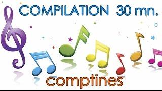 12 chansons en 30 minutes  (avec paroles) - Comptines pour enfant ☼