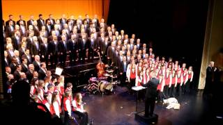 """Heartland Men's Chorus and Lawrence Children's Choir perform """"The W..."""