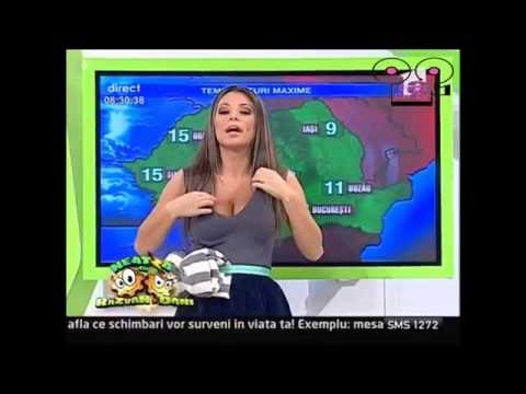 Big BOOBS In Brazilian TV Show !