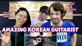 Couple Reacts to Sungha Jung - A Whole New World + Speechless