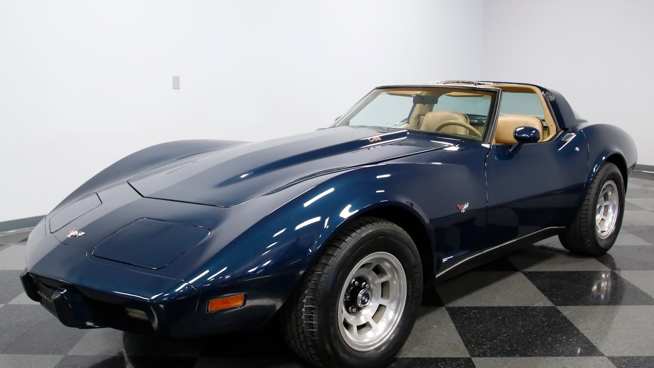 4045 CHA 1979 Chevy Corvette L82 - YouTube