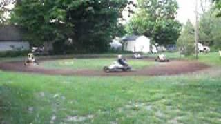 dirt track go kart racing