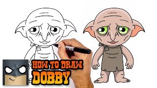How to Draw Dobby | Harry Potter