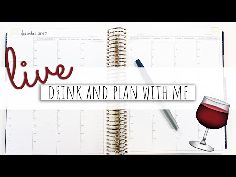 Download Youtube: 🔴 LIVE: Plan With Me   Pen Only   Vlogmas 2017