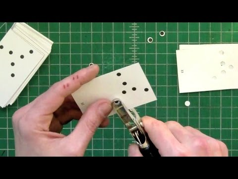 DIY Hole Punch Flipbook by Scott Blake