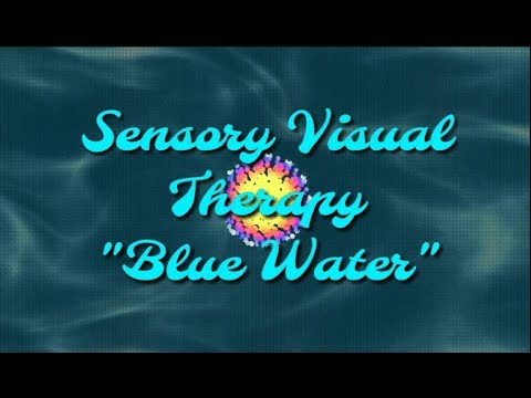 Autism Blue Water Sensory Visual Therapy