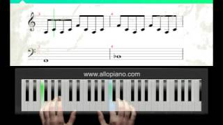 ALLOPIANO - Cours de piano Counting crows - Colorblind