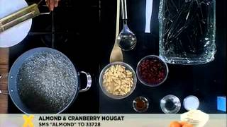 Almond And Cranberry Nougat (27.11.2012)