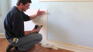 How To Design And Install Bead Board / Wainscoting Molding By Jon Peters