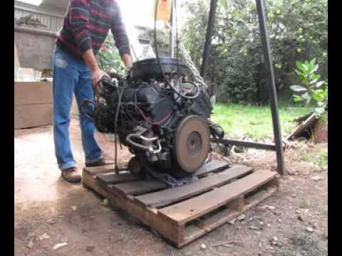 351 Cleveland Engine Wiring Diagram Partida En Fr 237 O V8 6 2 Diesel Youtube