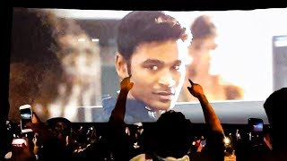 ENPT FDFS: Dhanush Entry – Fans Verithanam Celebration Inside Rohini Theatre!