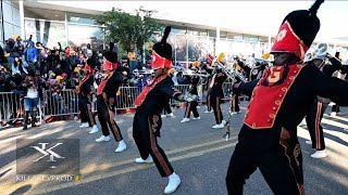 Grambling State University Marching In Their 2019 Homecoming Parade #GSUHomecoming