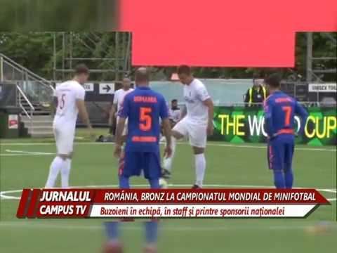 ROMANIA, BRONZ LA CAMPIONATUL MONDIAL DE MINIFOTBAL