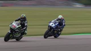 2019 Dickies British Supersport Championship, Round 7, Thruxton, Feature Race Highlights