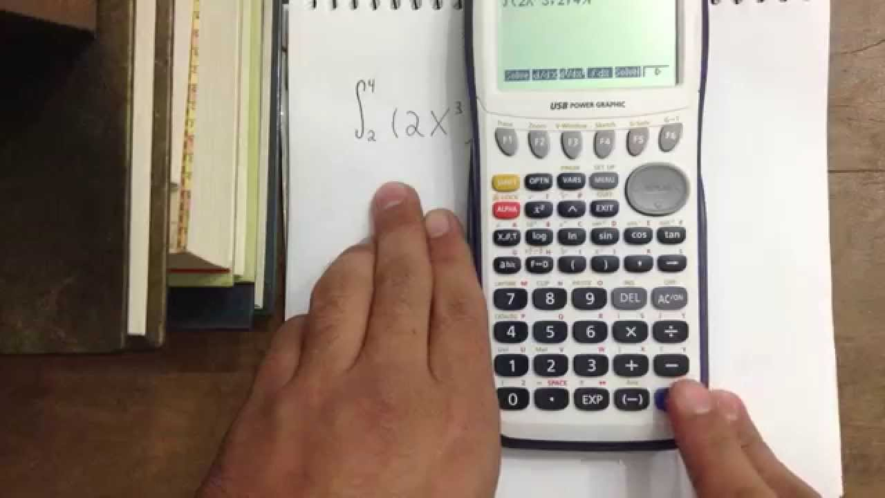 2c6b7ed58d6d Casio Fx-9750gII - Integral. - YouTube