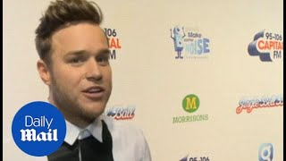 Olly Murs on Take That at the 2014 Jingle Bell Ball - Daily Mail