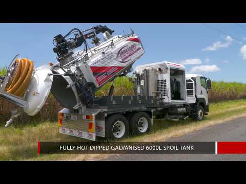 STG Global Hydro Excavation Truck -  HDV6000