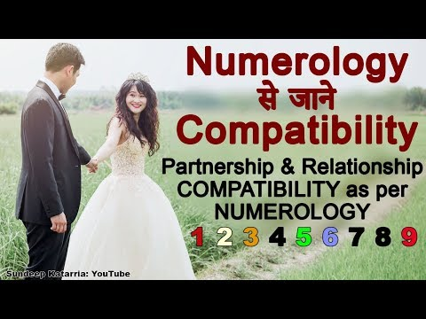 Know Partnership & Relationship Compatibility as per NUMEROLOGY