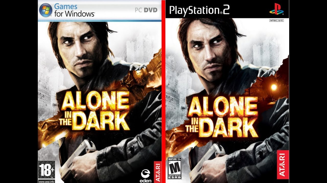 Alone In The Dark 2008 Pc Vs Alone In The Dark 2008 Ps2 Youtube