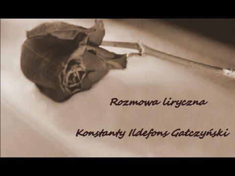 K I Gałczyński Rozmowa Liryczna