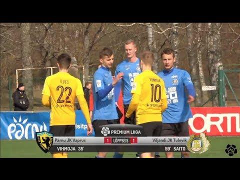 7f3890bf695 6. voor 2018: Pärnu JK Vaprus - Viljandi JK Tulevik 1:1 (1:0) - YouTube