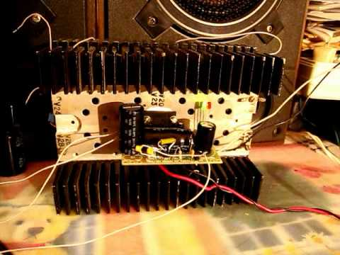 Amplifier Class-H: TDA1562 70W