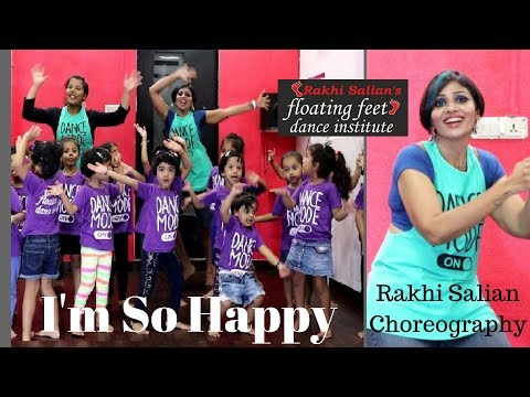 Action Song for Kids | Kids dance | I'm So Happy | The Singing Walrus|  Rakhi Salian's FFDI |