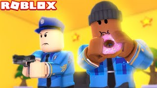 BECOMING POLICE OFFICERS IN ROBLOX