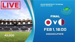 AFC ASIAN CUP | QATAR VS JAPAN LIVESTREAM | HD