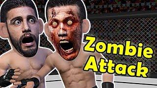 EPIC elbow KO - Korean Zombie VS Yair Rodriguez