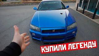 """Приобрели Nissan Skyline R34 GTR Vspec 2 - Настоящий """"Форсаж""""!  [DDE на русском]"""