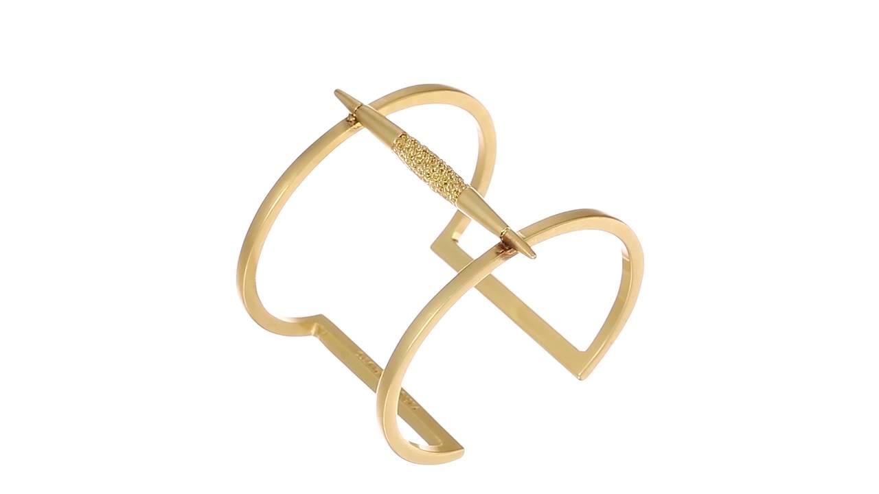 f5c40ad9671 Vince Camuto - Spear T-Bar Cuff Bracelet SKU:8838693 - YouTube