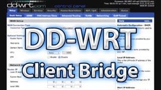 DD-WRT Client Pont de l'Installation