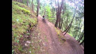 Downhill mountain bike holiday in the Alps