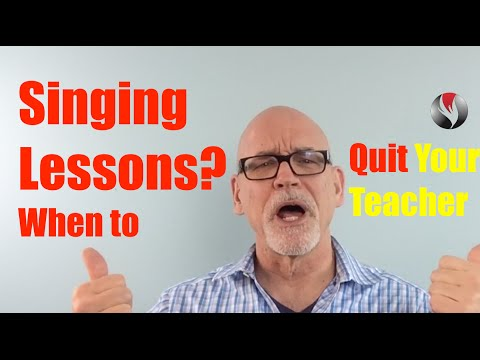 Ep 49 Singing Lessons? When to QUIT your teacher!