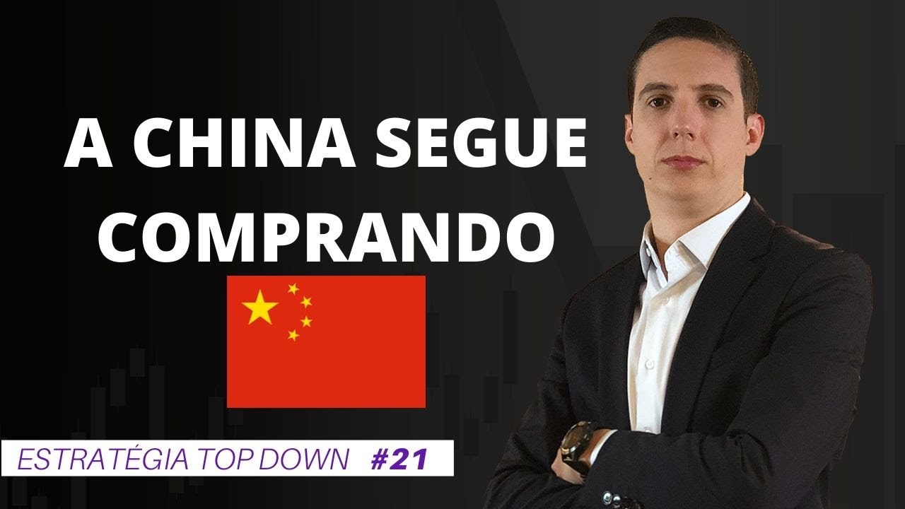 CHINA SEGUE NA COMPRA - JBS, MARFRIG E MINERVA (JBSS3, MRFG3 E BEEF3)| #21 Top Down