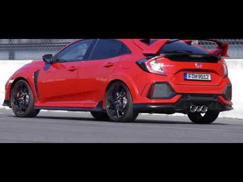 2017 Honda Civic Type R Red And White Youtube