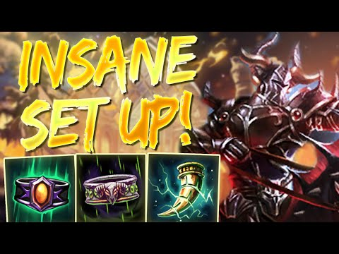 Ao Kuang: HIS ULT IS LOWKEY INSANE SETUP -  Ranked Smite