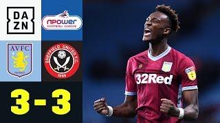 3:3 nach 0:3! Irre Aufholjagd im Villa-Park | Aston Villa - Sheffield Utd. 3:3 | Highlights | DAZN