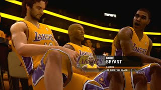 NBA Live 09 Pistons vs Lakers NBA Finals