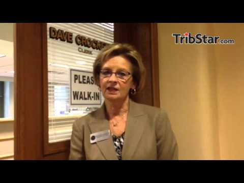 Indiana Secretary of State Connie Lawson on her visit to Terre Haute