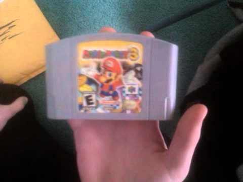 EBay unboxing nintendo 64 games