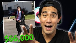 How Much Has Zach Kings Most Popular TikTok Video Made??