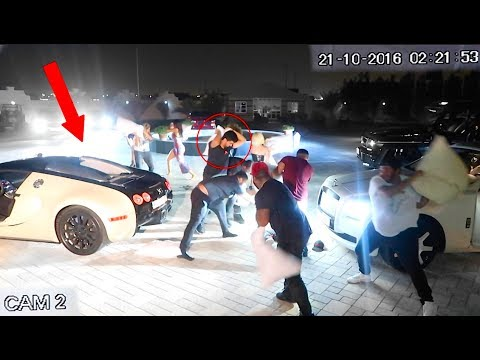Thumbnail: BUGATTI OWNER GETS JUMPED !!! *crazy footage*
